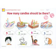 Put the right number of candles on the cakes