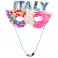 "Mask with the theme ""Italy"""