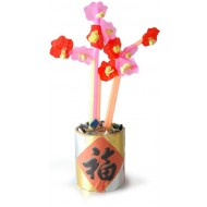 A mini Peach Blossom to decorate the house